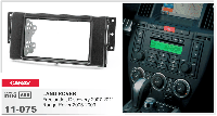 Рамка для магнитолы Land Rover Freelander/Discovery/Range Rover 2DIN      /для Ланд Ровера/переходная рамка/
