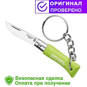Нож брелок Opinel (опинель) Inox Pop brelok Green Apple No.2 (001429)