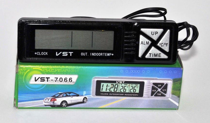 Часы и термометр для автомобиля 7066 - ГрадусОК в Харькове
