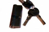 Сердцевина для замка ZC 90мм (35х55) с лазерн.ключами к/ключ (12шт/уп) (золото PB) (5кл)
