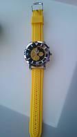 Яркие желтые часы от студии LadyStyle.Biz