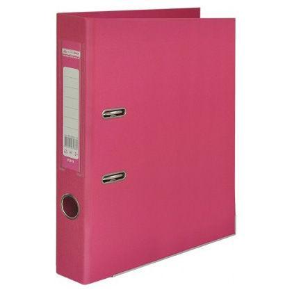Папка регистратор А4 5см Buromax двухсторонний 3002_Розовый