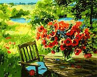 Картины по номерам 40×50 см. Маки на столе Галина Чупракова-Казакова