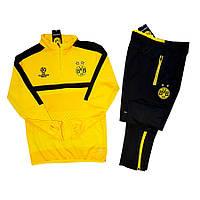 Детский футбольный костюм Боруссии, сезон 17-18 (желтый)