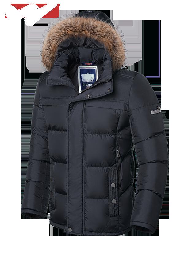 Молодежная мужская зимняя куртка Braggart (р. 46-56) арт. 3145