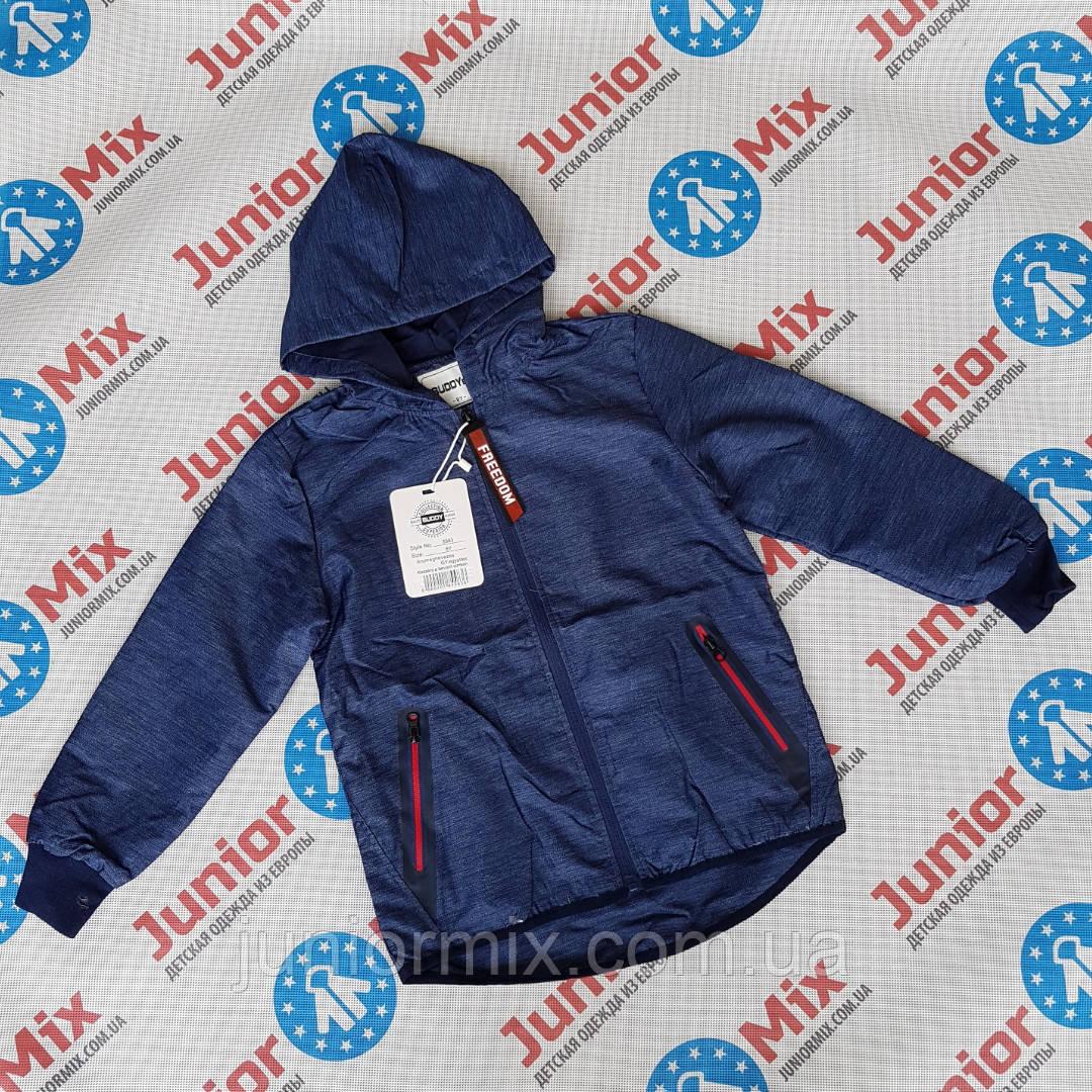 Подростковые весенние куртки для мальчиков оптом  BUDDY BOY