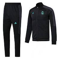 Детский футбольный костюм Реал Мадрид, сезон 17-18 (черный), фото 1