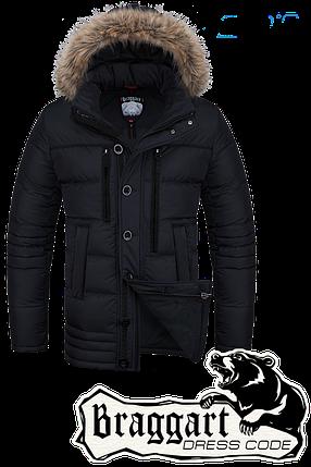 Мужская зимняя куртка с капюшоном Braggart арт. 1519, фото 2