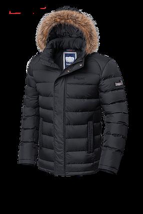 Мужская теплая зимняя куртка с мехом Braggart (р. 46-56) арт. 3612, фото 2