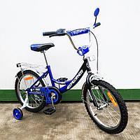 "Детский Велосипед EXPLORER 18"" , blue + black"