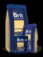 Корм Brit Premium (Брит Премиум) Dog Adult M для взрослых собак средних пород, 15 кг