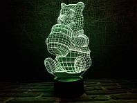 """3D Светильник """"Винни-Пух"""""""