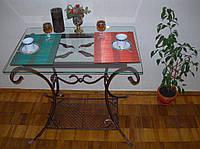 Кованые  столы для столовых комнат