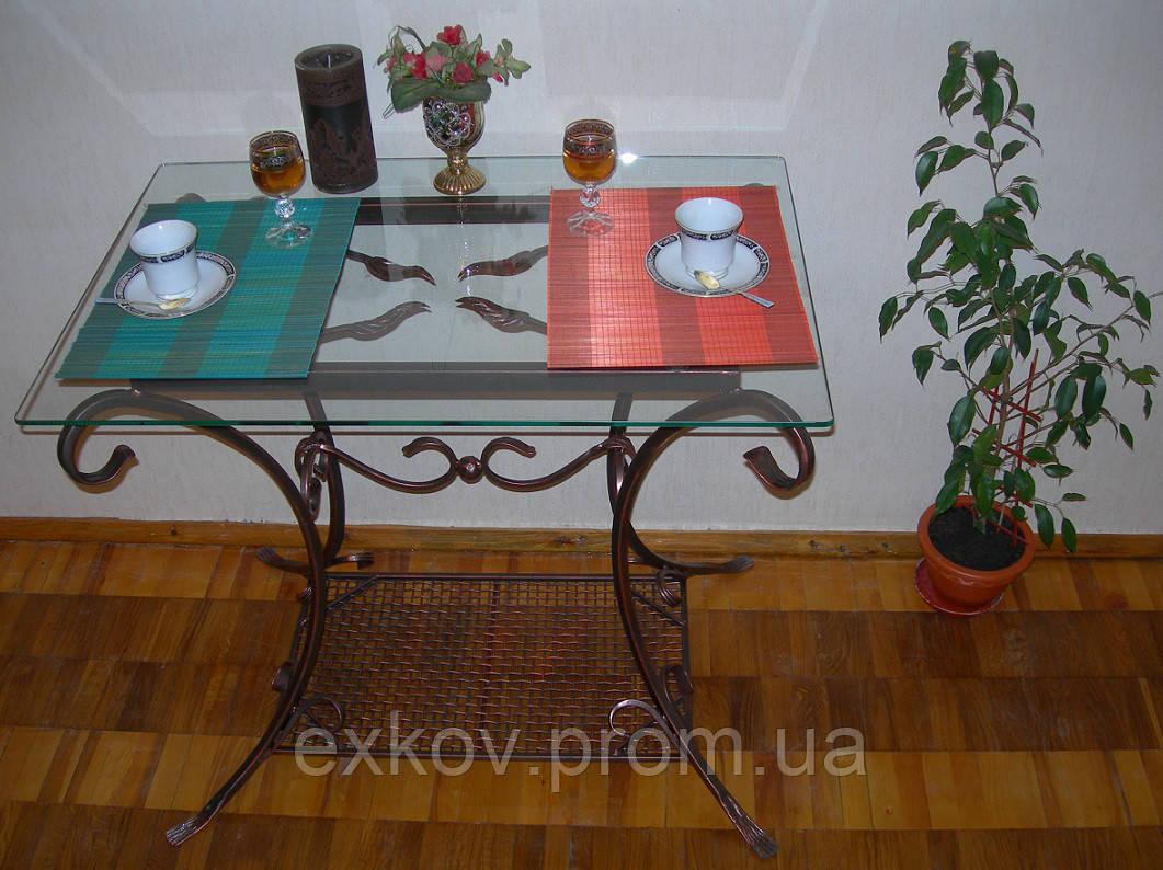 Кованые  столы для столовых комнат - Ковка24 - Художественная ковка в Киеве