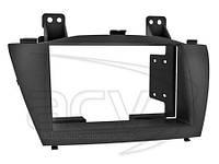Рамка для магнитолы Hyundai IX35(09->)         /для ХЮНДАЙ/переходная рамка/
