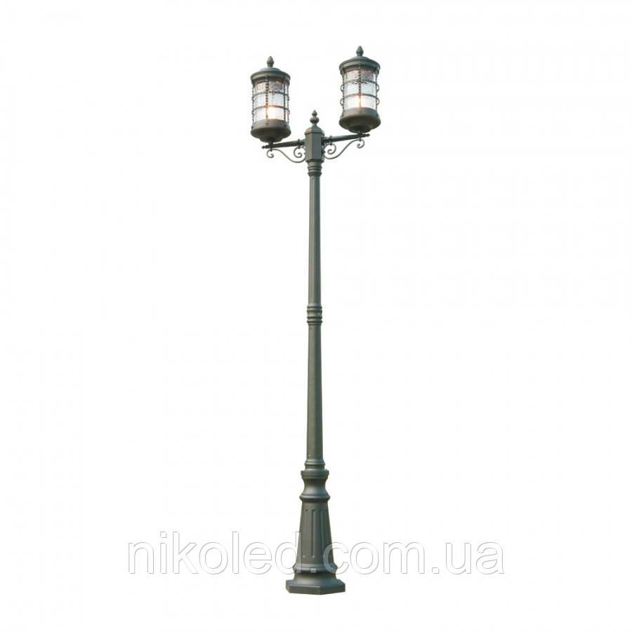 Парковый светильник Ultralight QMT21631Е Lettera черн.