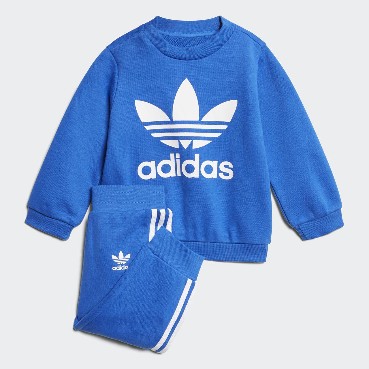Купить Детский костюм Adidas Originals Trefoil Crew (Артикул  CE1159 ... 3b04c0ffe55