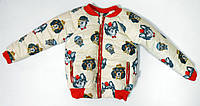 Детская курточка демисезонная р.86-98 ТМ Одягайко