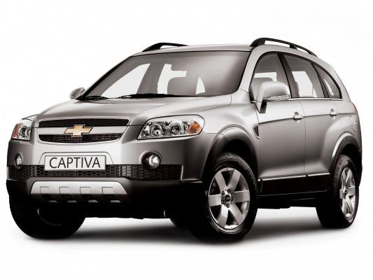 Лобовое стекло Chevrolet Captiva с обогревом щеток (2006-)