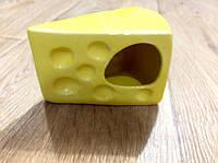 """Кормушка для грызунов """"Кусочек сыра"""""""