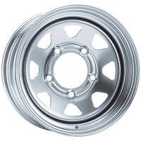 Dotz Dakar R15 W6 PCD5x139,7 ET0 DIA110.1 Silver