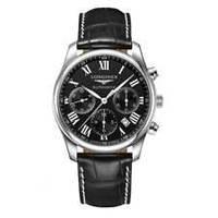 Мужские механические наручные часы Longines L2.759.4.78.5 Black лонжин