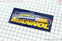 Супер клей Super Glue клеит дерево пластик  метал  2 g фирмы MANNOL
