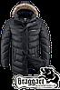 Мужская зимняя куртка с мехом Braggart арт. 3877