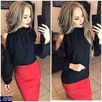 Рубашка (42, 44, 46) —креп шифон купить оптом и в Розницу в одессе 7км