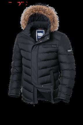 Мужская зимняя куртка графит Braggart Aggressive (р. 46-56) арт. 4219, фото 2