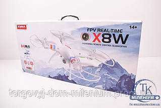 Квадролёт Syma X5HC с гироскопом , камера, свет, аккумулятор, WiFi, FPV X8W