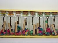 Бутылочки с пожеланиями, 12 шт.