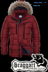Мужская качественная зимняя куртка Braggart арт. 1519