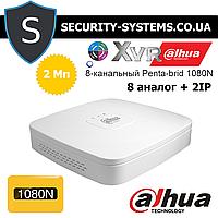 Dahua DHI-XVR4108C-S2 - 8-канальный XVR видеорегистратор 1080N