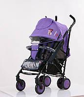 Прогулочная коляска детская трость Baciuzzi B7 Purple
