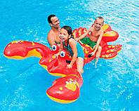 Детский плотик для бассейна Интекс Лобстер