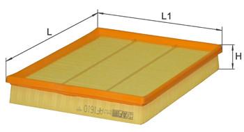 Фильтр воздушный Alpha Filter AF 1610 (AP 051)