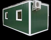 Жилой вагончик контейнер для дачи недорого | Садовые жилые контейнеры бытовки - Цена изготовителя