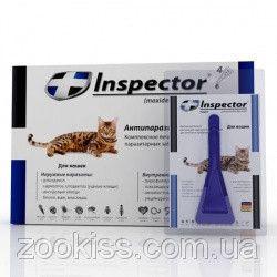 Inspector (инспектор)- капли от внешних и внутренних паразитов у кошек до 4 кг