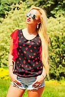 Яркая стильная летняя блуза