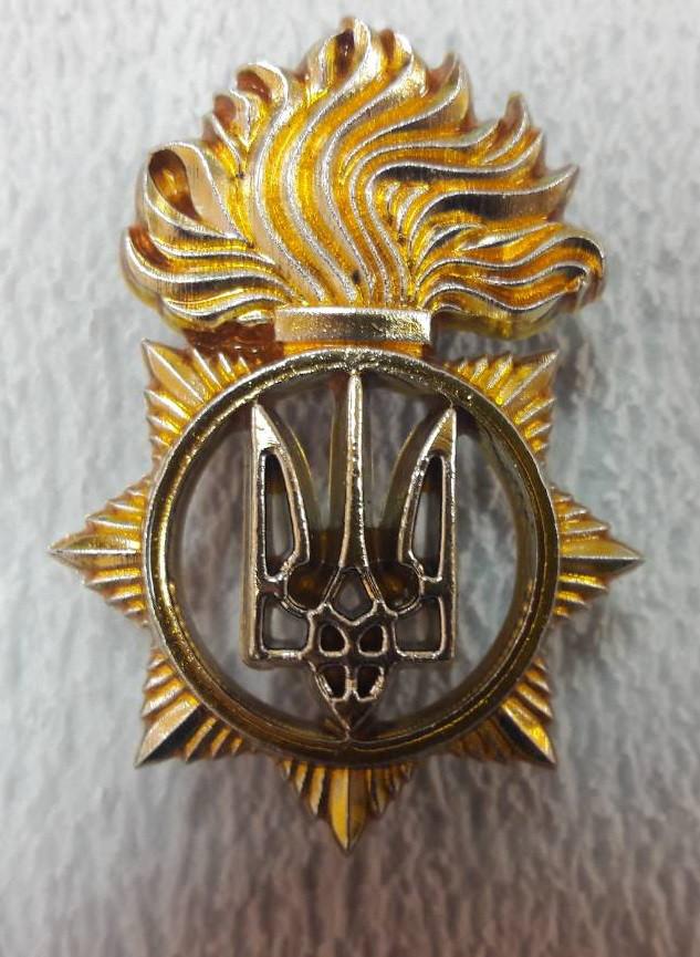 Кокарда на бере Національної Гвардії НОВА (пластик)