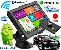 ЛУЧШИЙ! GPS навигатор Pioneer PI750DVR +1/16GB DVR/AV/FM/BT/Wi/Fi