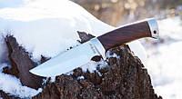 Нож нескладной Корсар, для охоты, рыбалки и туризма с тканевым чехлом в комплекте