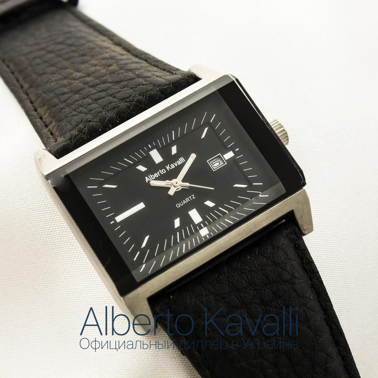 Мужские оригинальные часы Alberto Kavalli silver black 3377-1340 -  megastore.net.ua 6aff10185f867