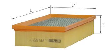 Фильтр воздушный Alpha Filter AF 1637 (AP 021)