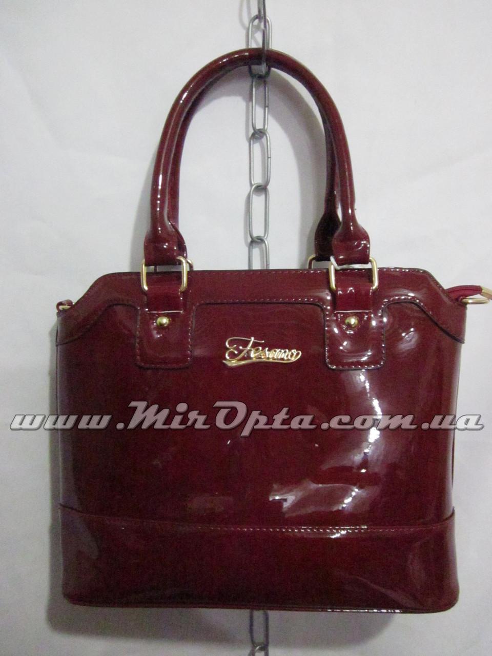 19992f4f27f8 Женская сумка лакированная 0583 (31 х 25 см.) купить оптом в Украине ...