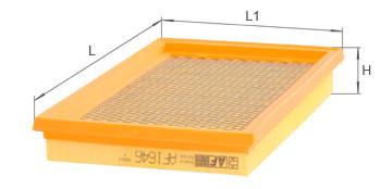 Фильтр воздушный Alpha Filter AF 1646S (AP 154/1)
