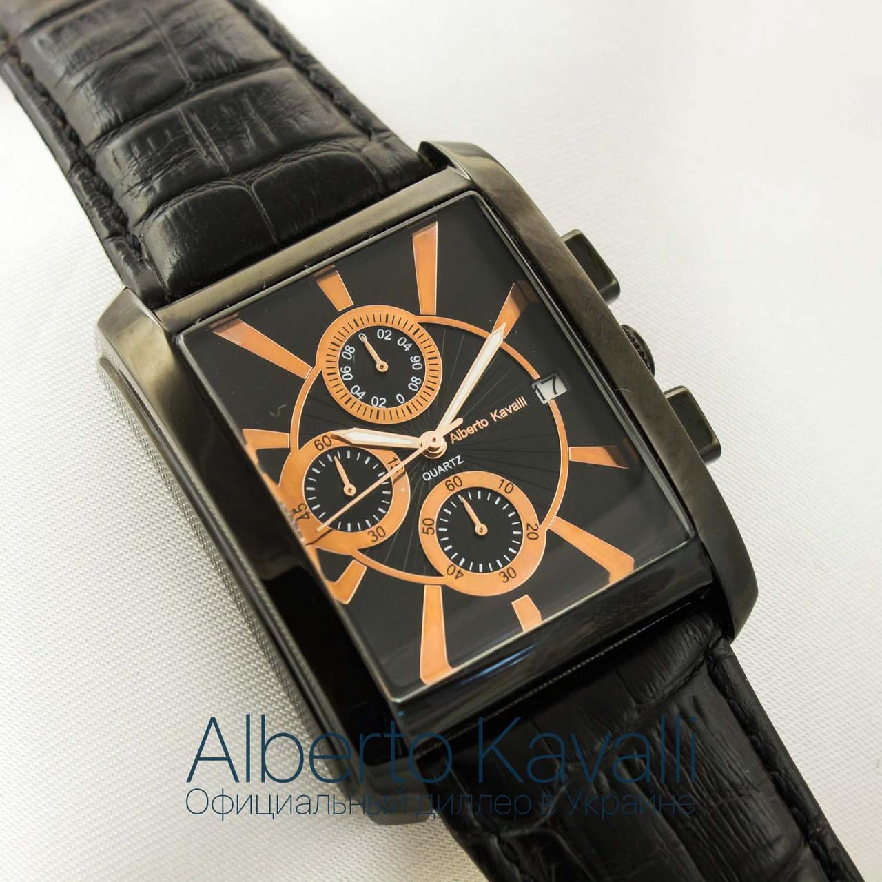 Мужские оригинальные часы Alberto Kavalli black black 3406-s6394 -  megastore.net.ua 022fa0bd41669