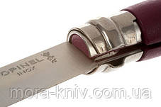 Нож Opinel (опинель) Inox Pop Plum No.07 001427 (Граб) Нож Opinel (опинель) Inox Pop Plum No.07 001427 (Граб) , фото 3