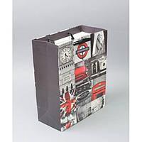 """Подарочный пакет """"Картинки"""" TF417, 26*32*12.5 см, с ручками, Пакеты для подарка, Подарочные пакеты с ручками, фото 1"""